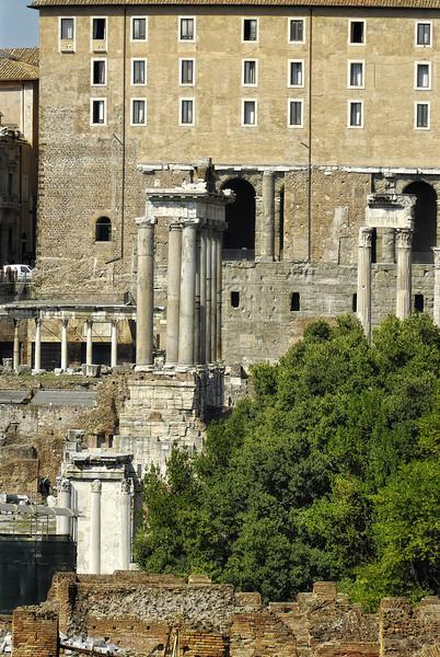 Forum Ruins - Rome Italy
