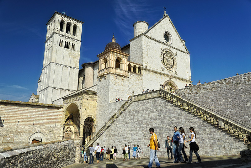 Cathedral in Assissi Italy
