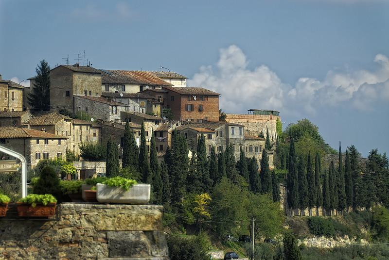 Town of San Gimignano Italy