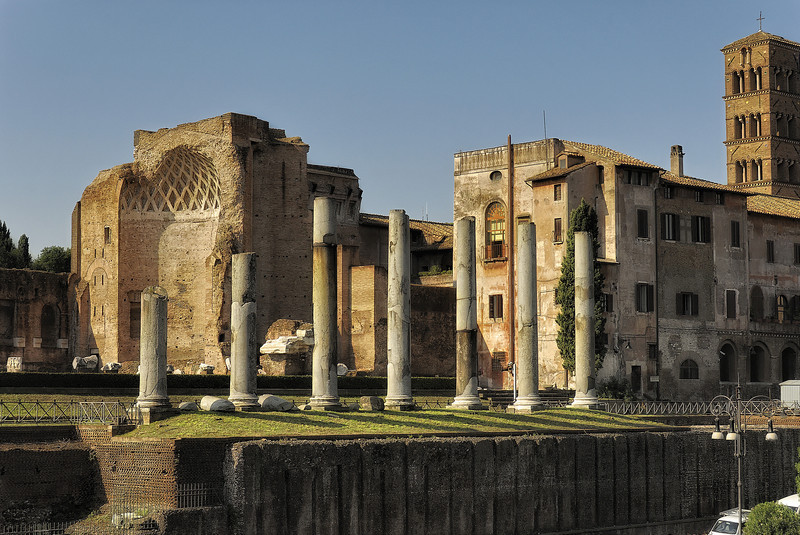 Ruins in Rome Italy