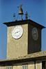 "Town clock & ""alarm"" - Orvieto Italy"