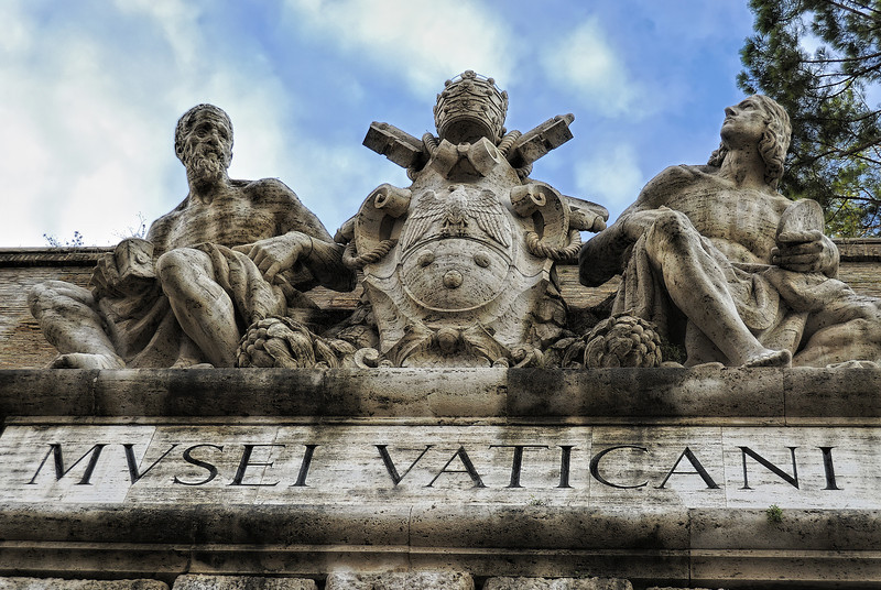 Entrance to Vatican City - Rome Italy