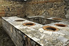Residential house remains in Pompeii Italy