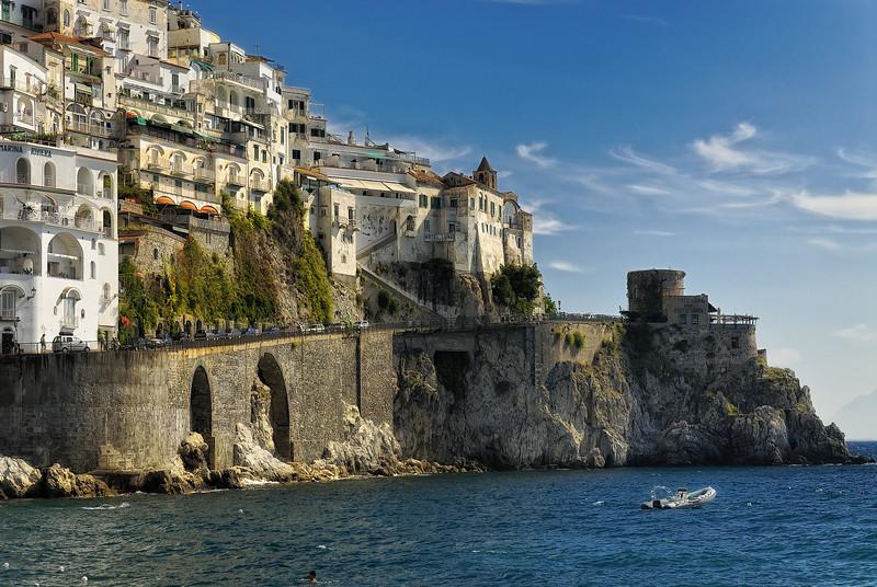 Town of Amalfi Italy
