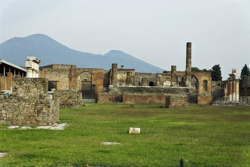 Main square - Pompeii Italy