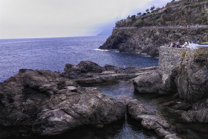 Cinque Terre Italy coastline