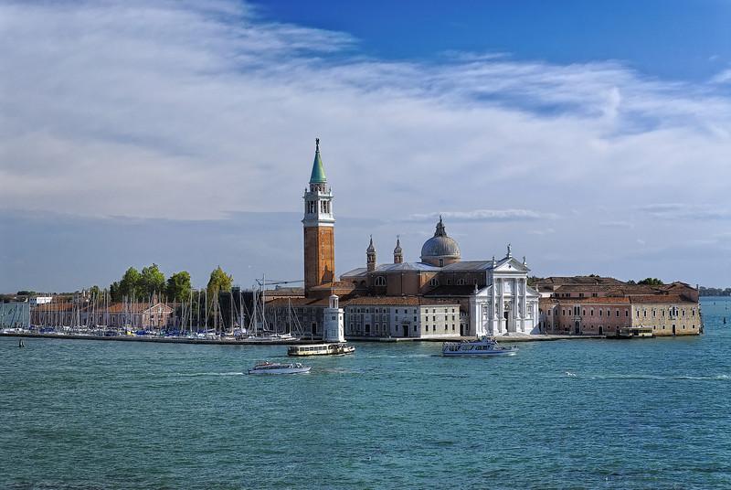 San Giorgio Maggiore Church on the Grand Canal - Venice Italy