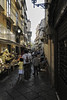 Street vendors in Sorrento Italy