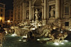 Trevi Fountain at night - Rome Italy