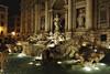 Trevi Fountain at night - Rome Italy