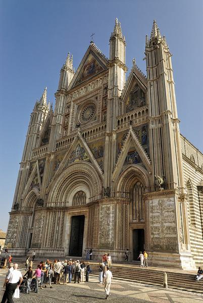 Church in Orvieto Italy