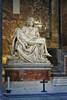 Pieta Statue inside St Peter's Basilica - Rome Italy