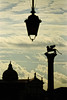 Silhouette of St Mark's Square - Venice Italy