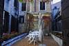 House terrace in Venice Italy