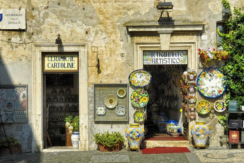 Storefront - Orvieto Italy