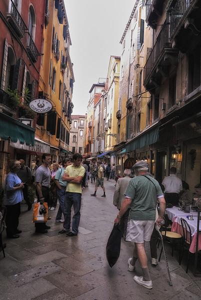 Street in Venice Italy