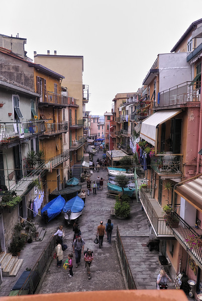 Town of Cinque Terre Italy