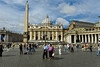 St Peter's Piazza - Rome Italy