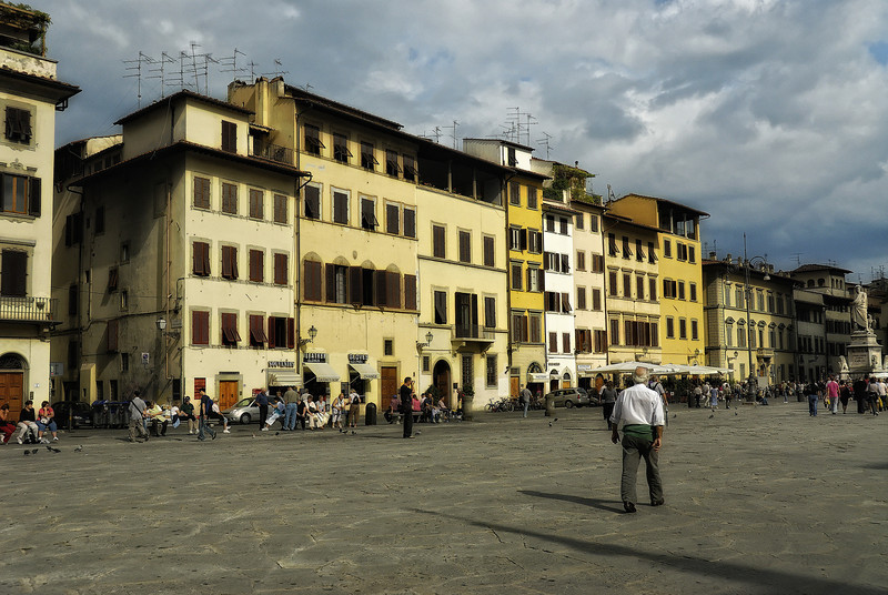 Town Square in Florence Italy