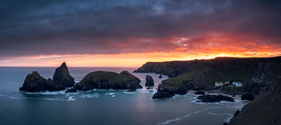 Kynance Cove Sunset