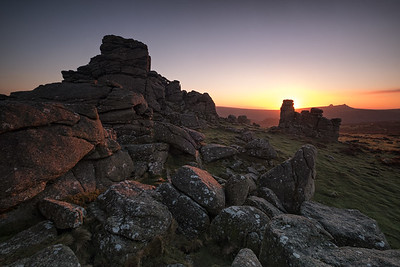 Hound Tor Sunrise