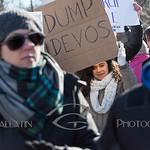 2017-02-04 Devos Protest - Verona Park  AMY_2672