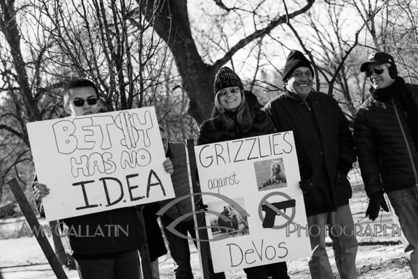 2017-02-04 Devos Protest - Verona Park  AMY_2598