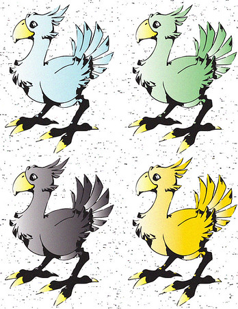 Final Fantasy 7 - Chocobo Collection