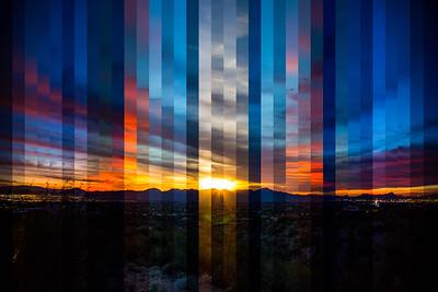 Sunset Timelapse Stitch