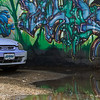 Blue Honda