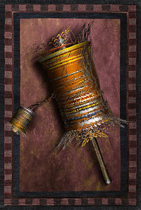 Prayer Wheel & Rug