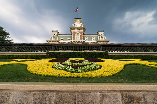 """""""Next Stop: Magic"""" - Train Station, Magic Kingdom - Walt Disney World   Recommended Print sizes*:  4x6  