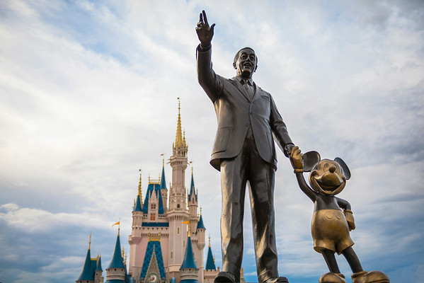 """Reach for the Sky"" - Partners Statue, Magic Kingdom - Walt Disney World   Recommended Print sizes*:  4x6  