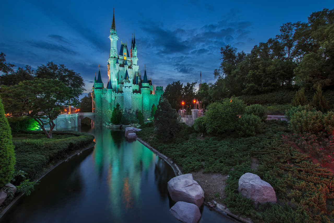 """""""A Real Dream"""" - Cinderella's Castle, Magic Kingdom - Walt Disney World   Recommended Print sizes*:  4x6      8x12     12x18     16x24     20x30     24x36 *When ordering other sizes make sure to adjust the cropping at checkout*  © JP Diroll 2014"""