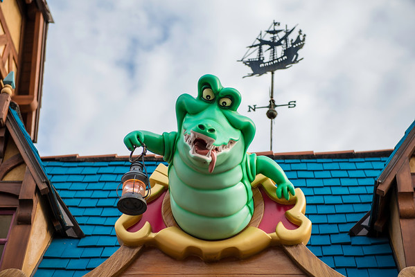 """Tick Tock Croc"" - Fantasyland, Magic Kingdom - Walt Disney World   Recommended Print sizes*:  4x6  