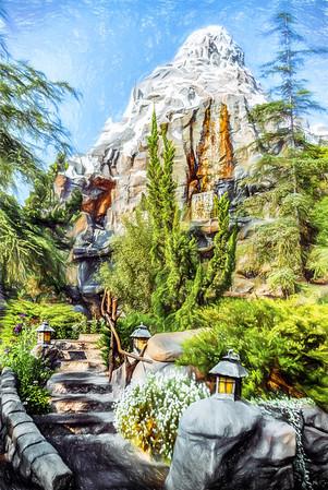 Disneyland - Matterhorn Bobsleds