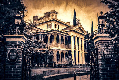 Disneyland - Haunted Mansion