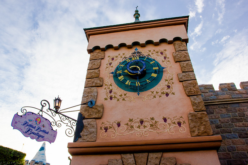 Bibbidi Bobbidi Clock Tower
