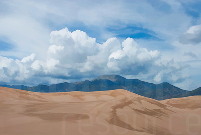 Colorado Sand Dunes 001 | Wall Art Resource