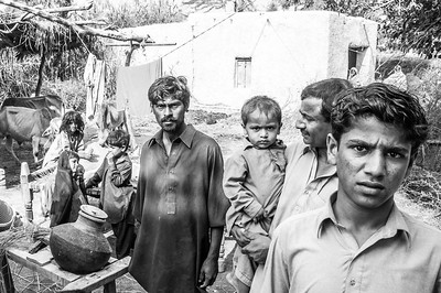 Family Commune - Sindh Province, Pakistan