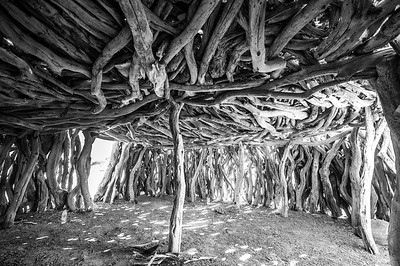 Timber Abode Interior - Red Sea Mountains, Sudan