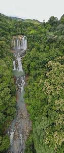 Nauyaca Waterfalls near Dominical and Uvita in Costa Rica