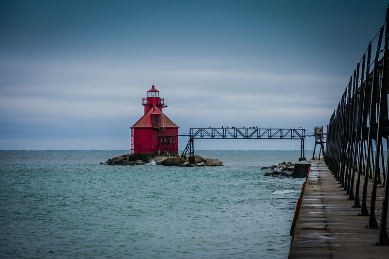 Sturgeon Bay Ship Canal Pierhead