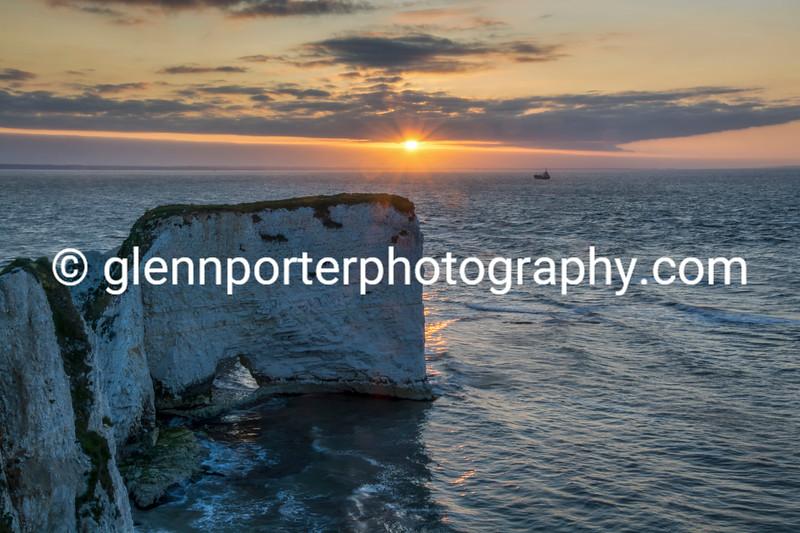 Old Harry Rocks, Dorset - early morning.