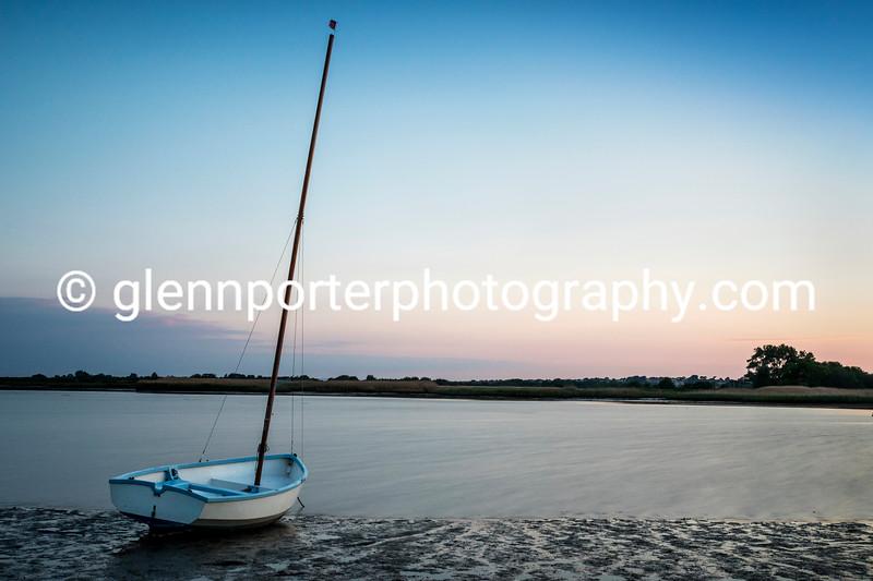 An evening at Christchurch Harbour, Dorset.
