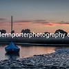 Sunset at Christchurch Harbour, Dorest.
