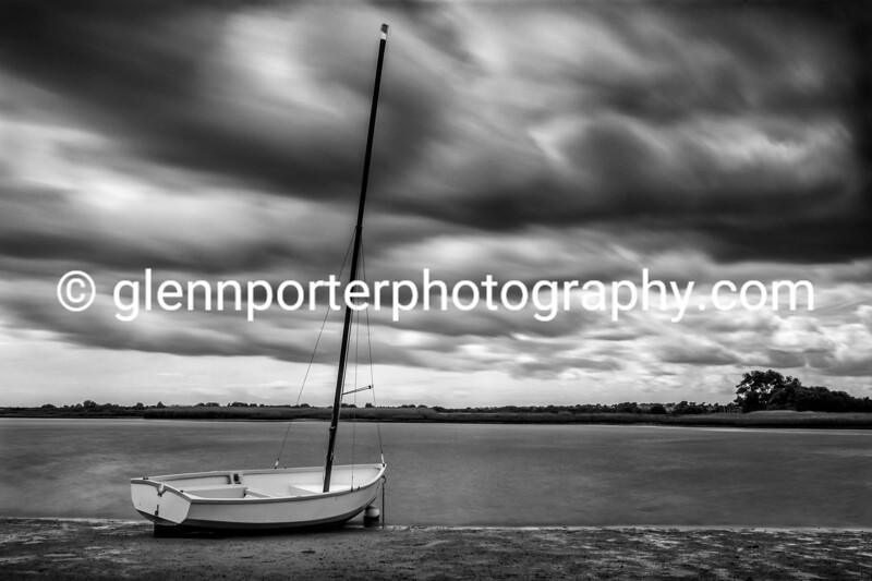 Storm clouds at Christchurch Harbour, Dorest.