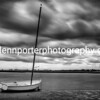 Storm clouds at Christchurch Harbour, Dorset.
