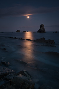 Full Moon at Mupe Bay