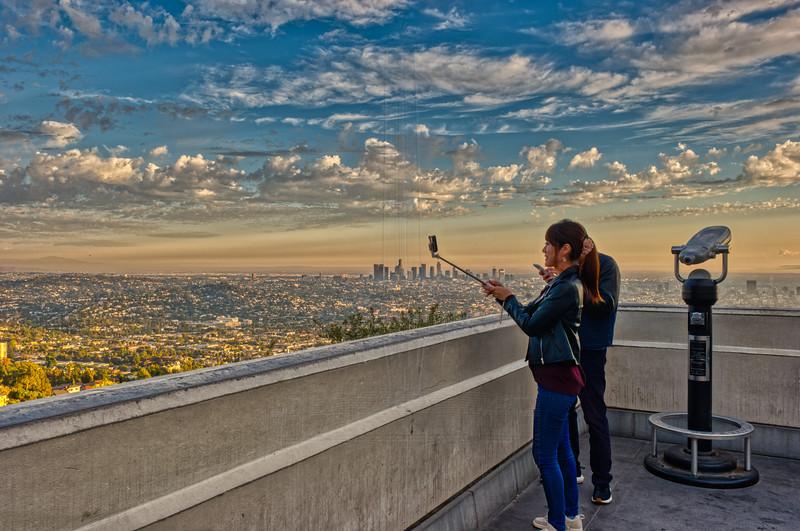 A Tourist Selfie.